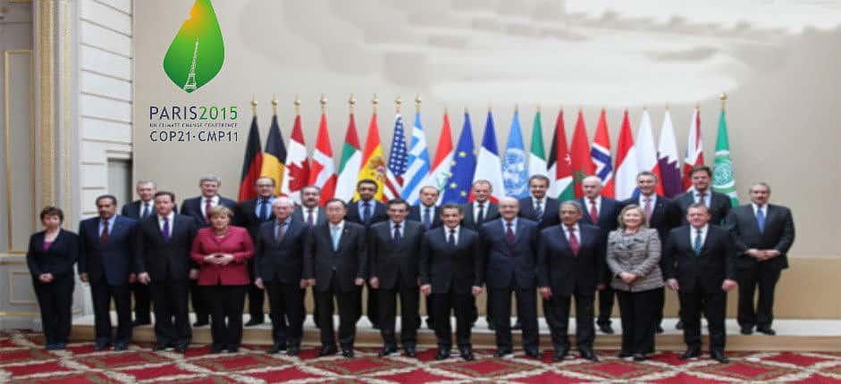 Staats-und Regierungschefs aus 140 Ländern trafen sich zur 21. UN-Klimakonferenz