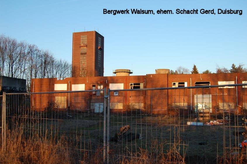 Schacht Gerd, BW Walsum