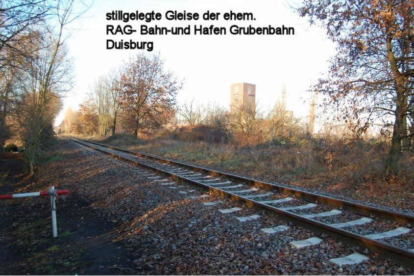 aufgebebene RAG BuH-Gleise
