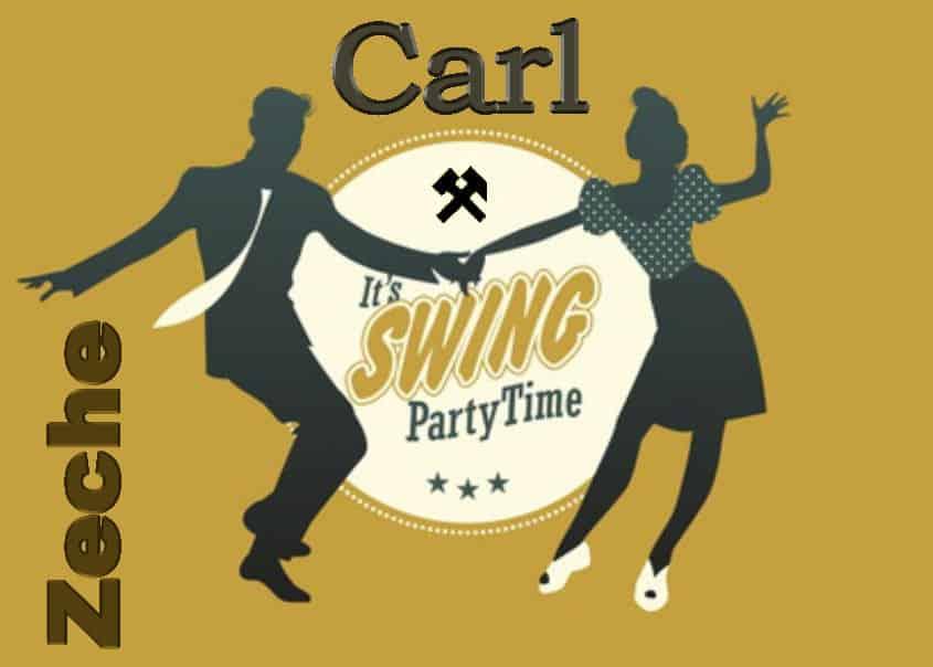 """Young couple dancing swing: """"Balboa"""" Style"""