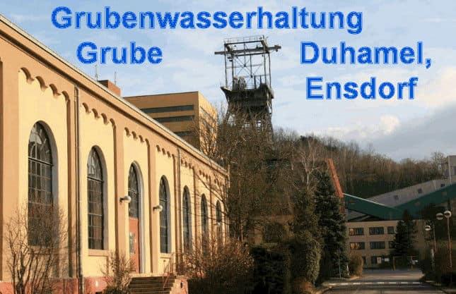 Grube Duhamel, Ensdorf, Saarland - F