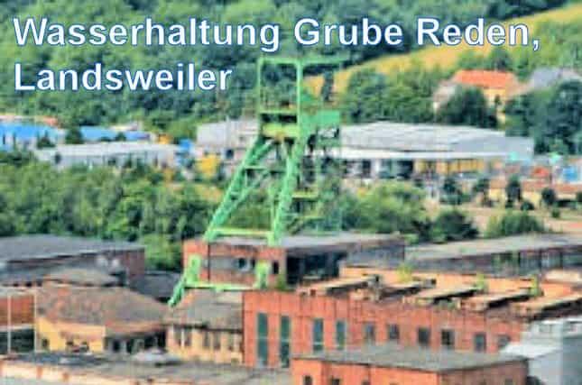 Grube Reden, Landsweiler, Saarland- F