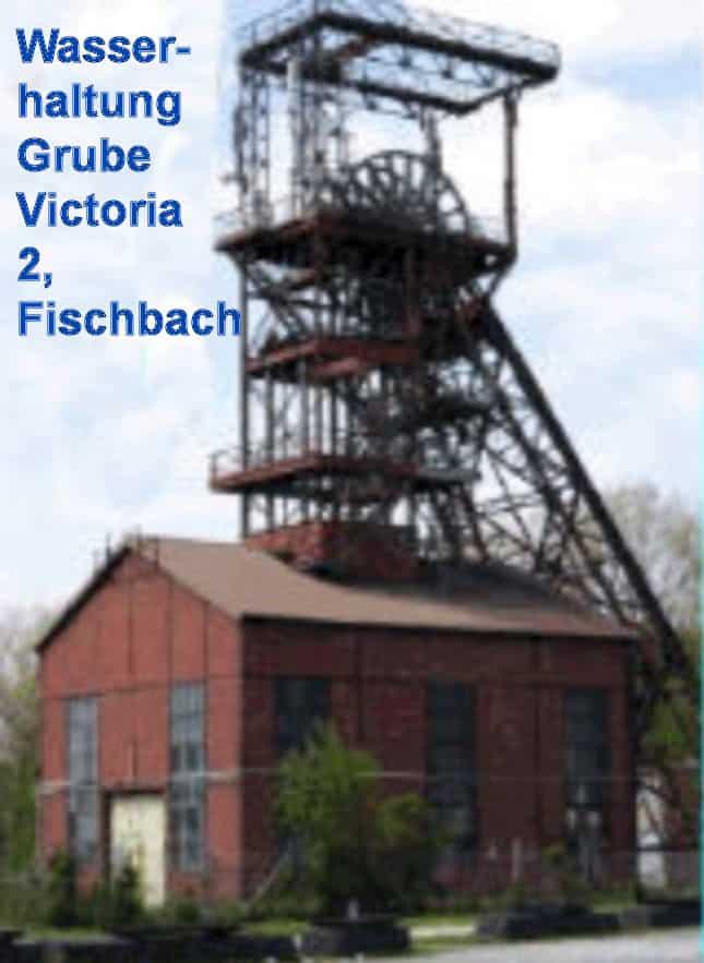 Grube Victoria 2, Fischbach, Saarland- F