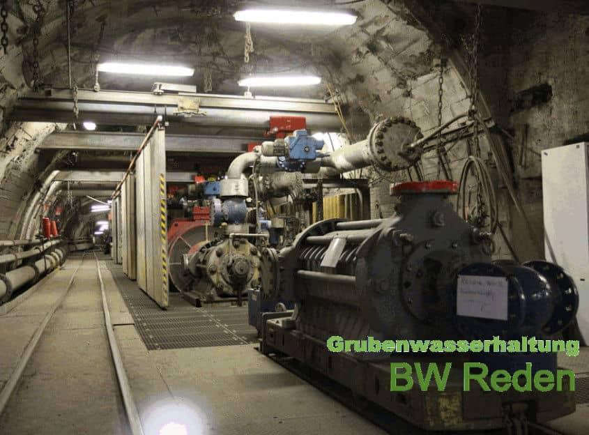 Grubenwasserhaltung BW Reden Saarland- foto rag farbig