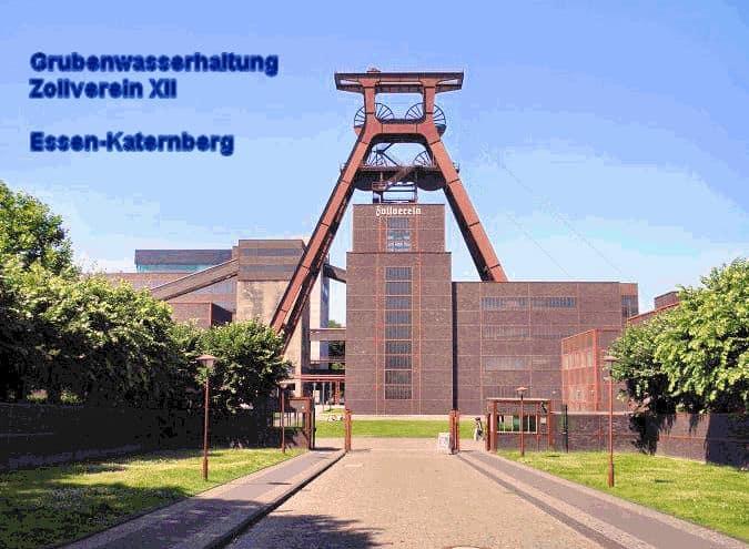 Grubenwasserhaltung Zollverein XII