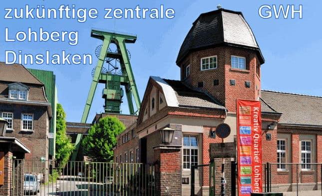 neue Brunnenwasserhaltungszeche Lohberg, Dinslaken -F