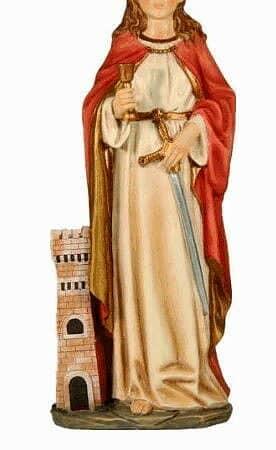 St. Barbara - Schutzheilige aller Bergleute