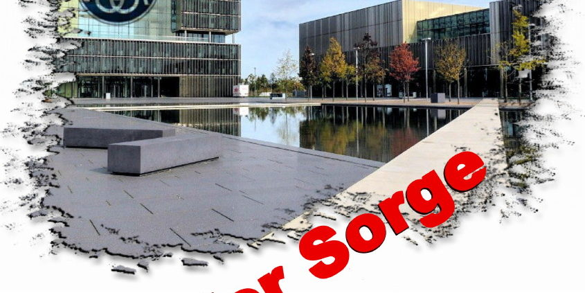 Kruppe Edge in tiefer sorge