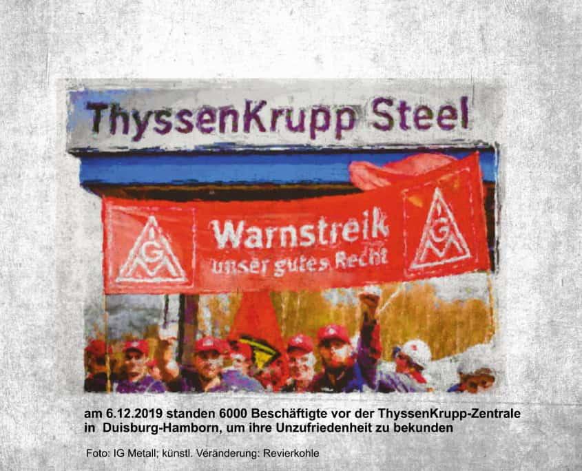 ThyssenKrupp Streik