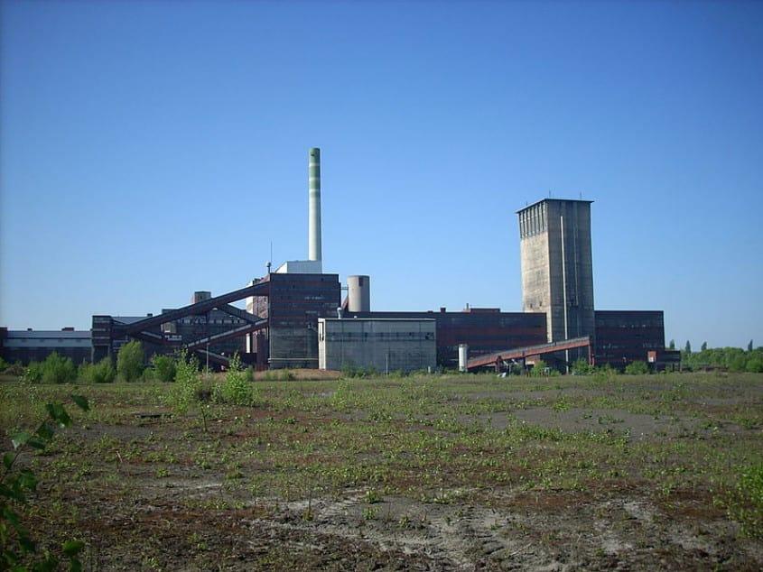 Bergwerk General Blumenthal, Schacht Schamrock 11, Herne, Foto: Dortmund2008, GNU-CC-BY-SA-3.0,wikimedia commons