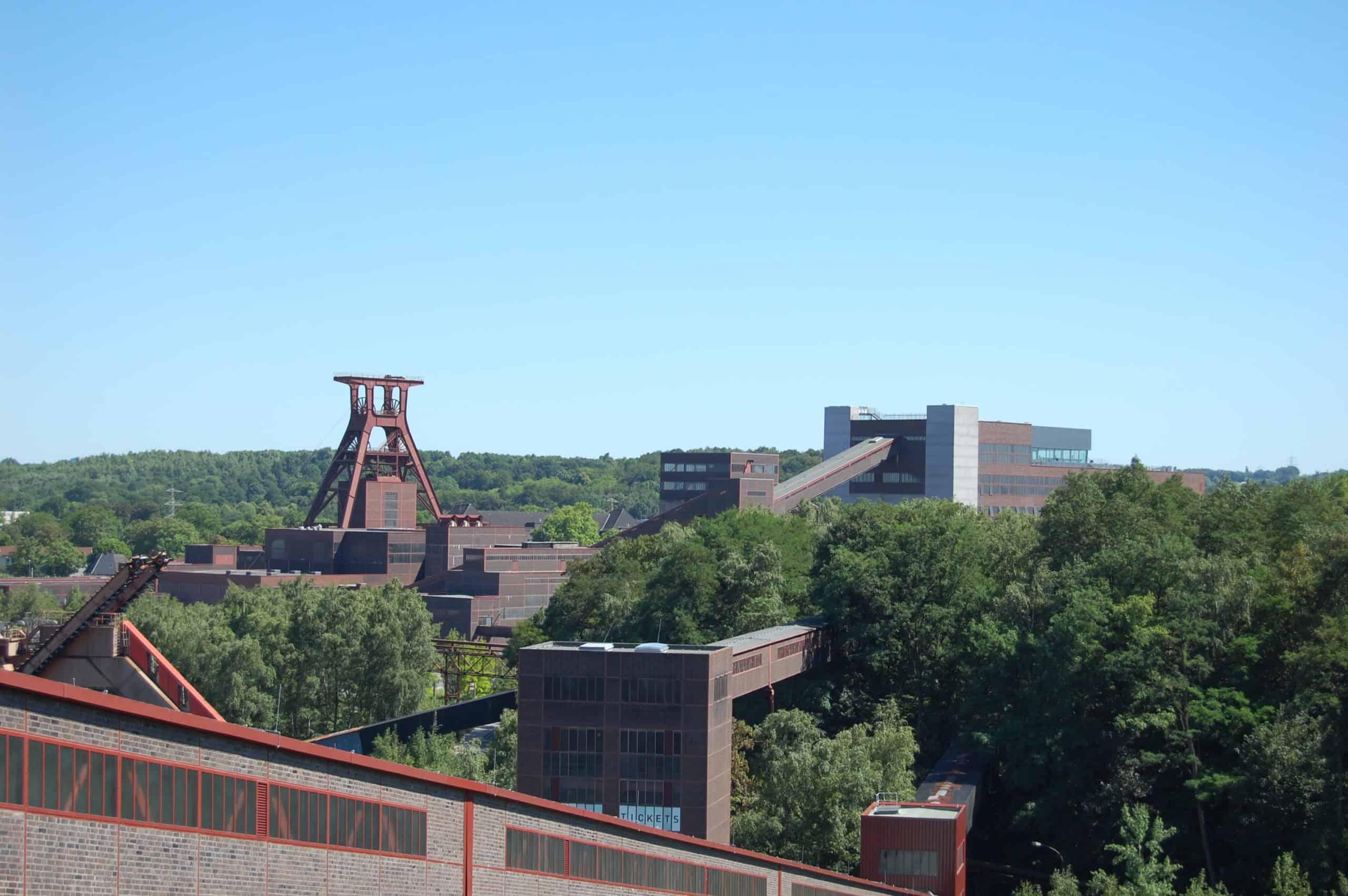 Zeche Zollverein, Schacht XII in Essen-Katernberg, Foto: Revierkohle XII