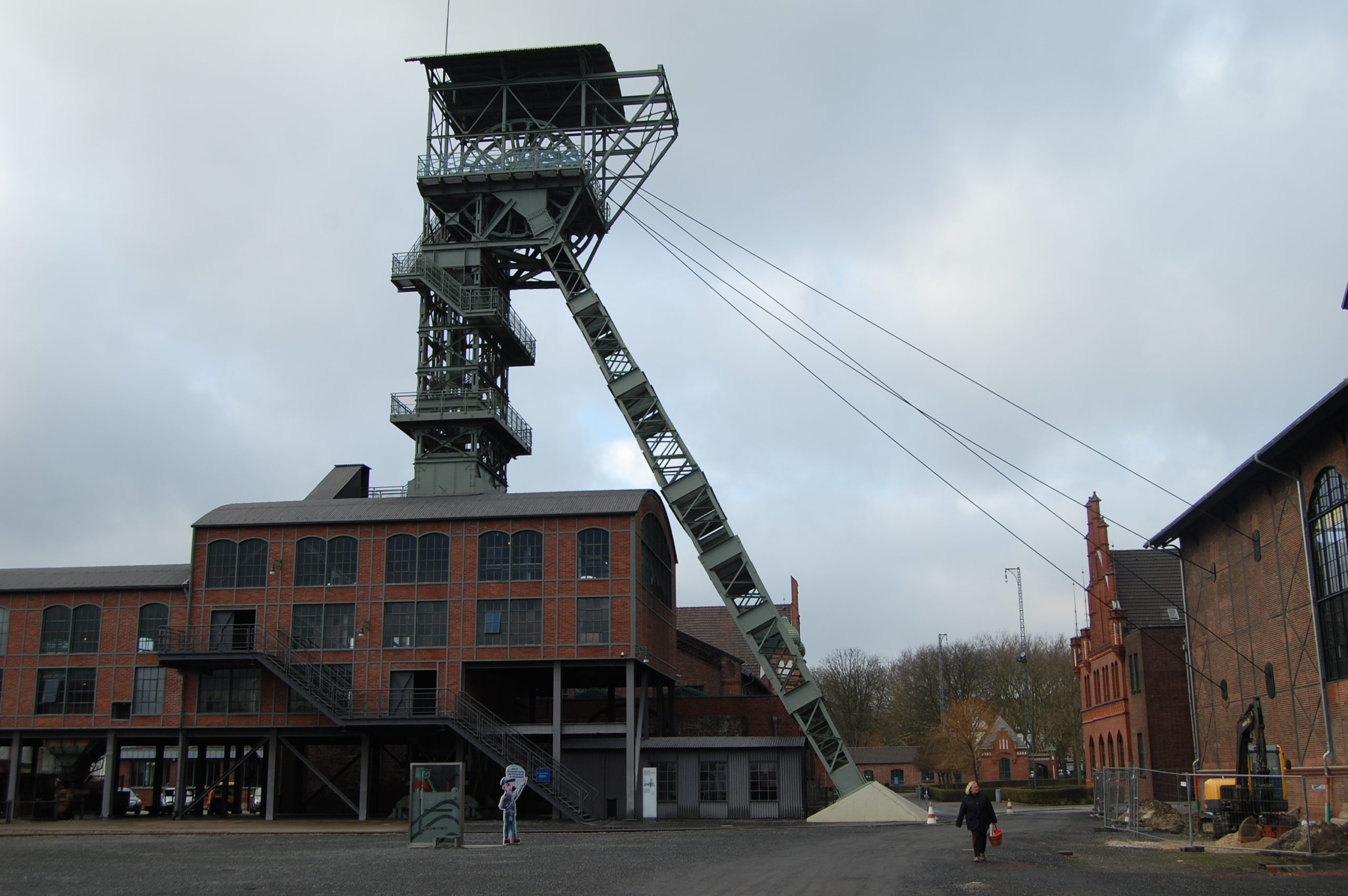 Förderturm über Schacht II der Zeche Zollern in Dortmund-Bövinghausen, Foto: Revierkohle
