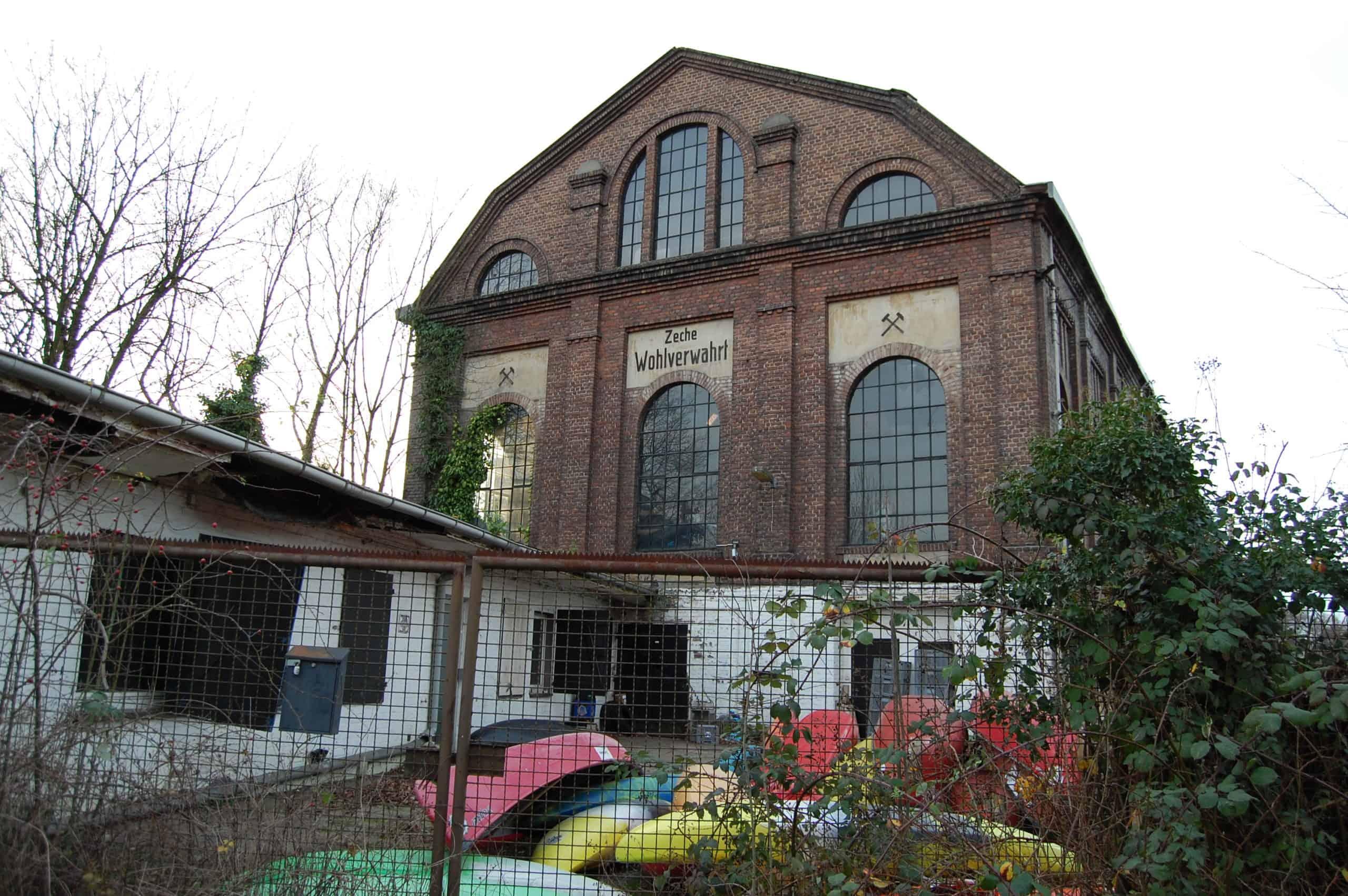 Maschinenhalle der Zeche Wohlverwahrt in Essen-Horst, Foto: Revierkohle
