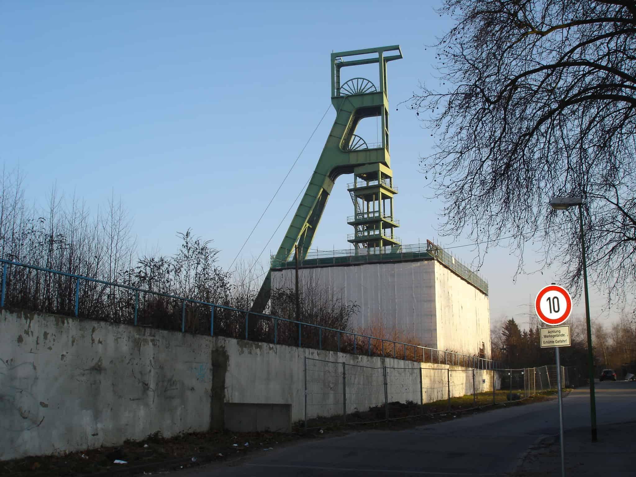 Zeche Sälzer-Amalie, Schacht Amalie in Essen,Foto:Revierkohe