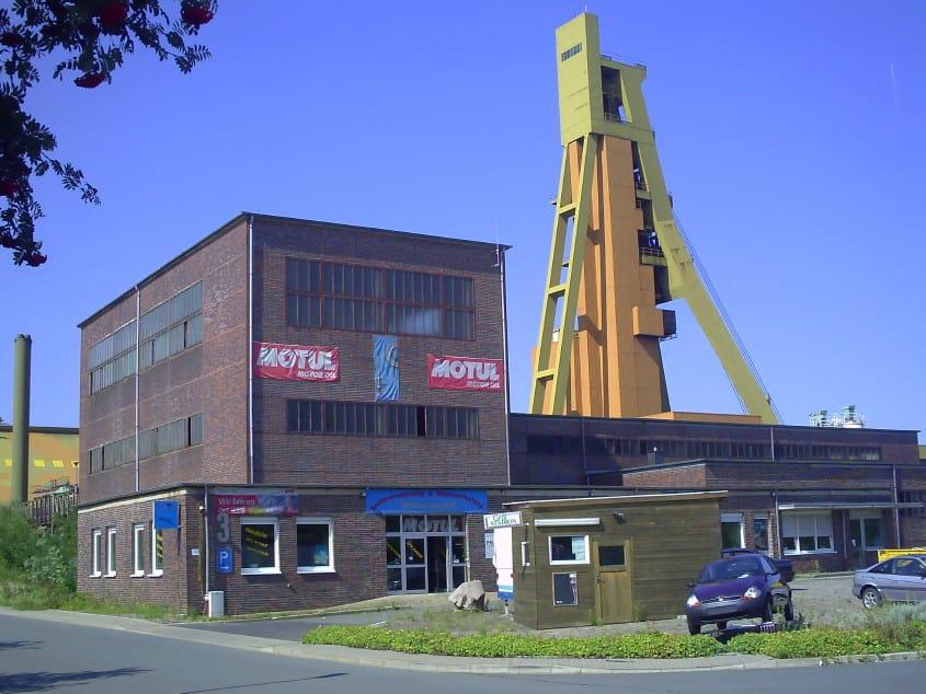 Zeche Monopol, Schacht Grimberg 1/2 in Bergkamen, Foto: Revierkohle