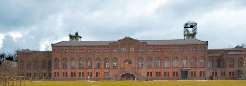 Zeche Zweckel mit Maschinenhalle in Gladbeck-Zweckel