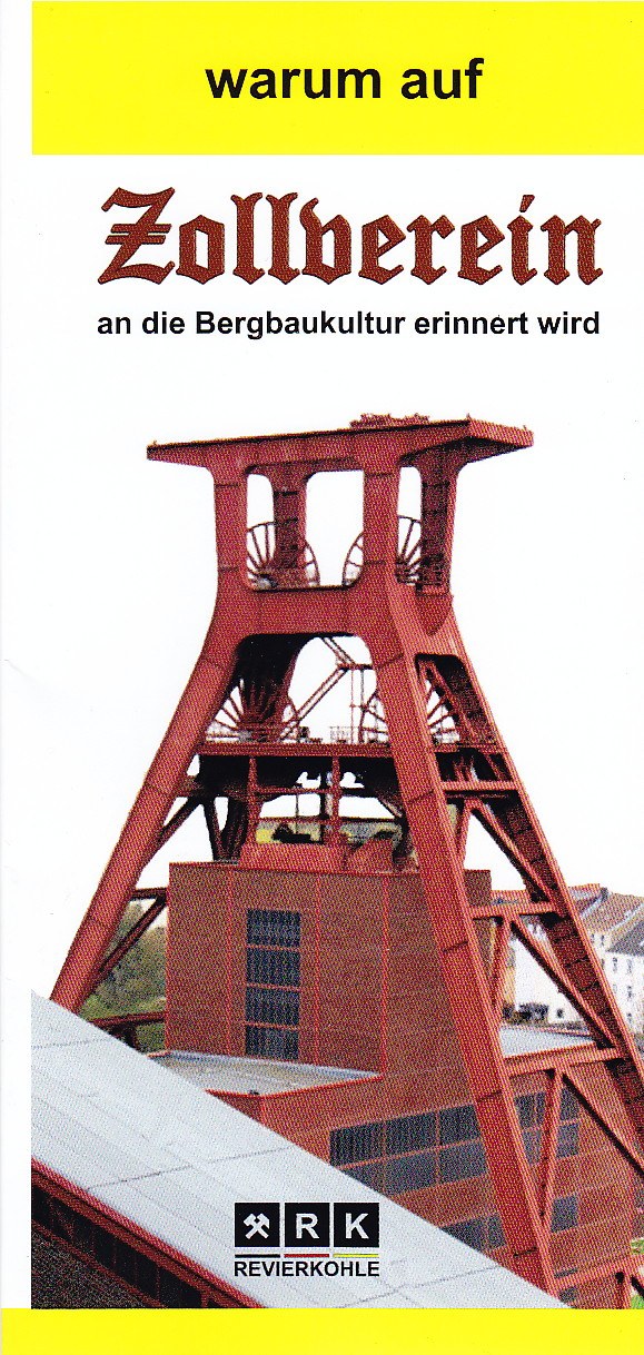 warum auf Zollverein an die Bergbaukultur erinnert wird
