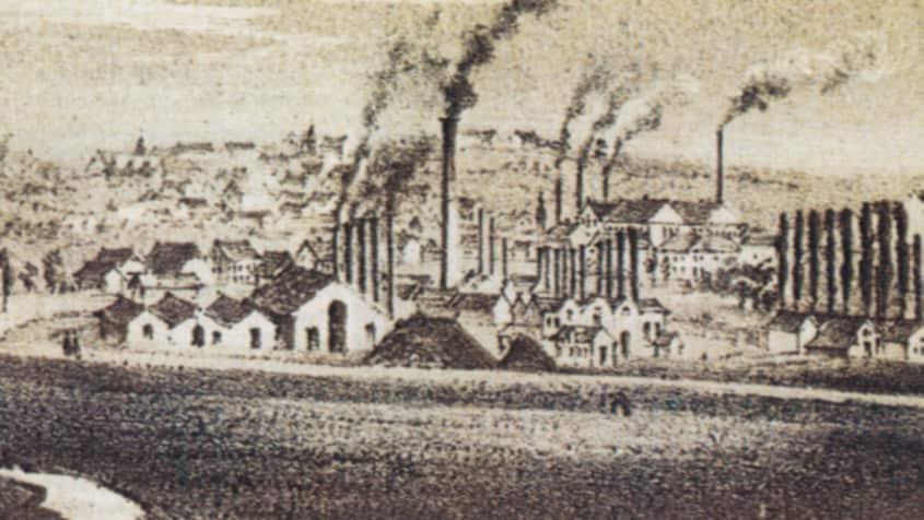 Industriealisierung in Neunkirchen um 1850