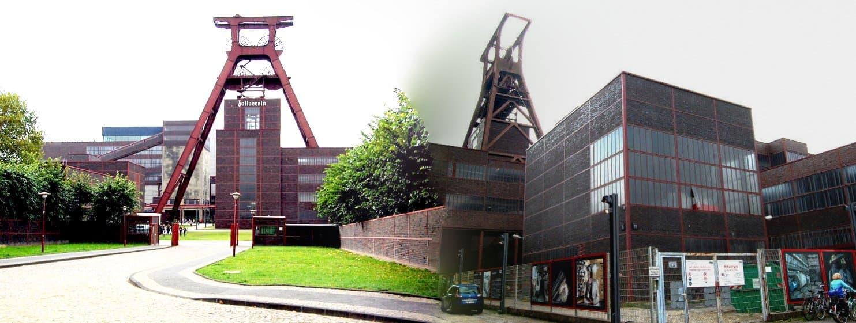 Zeche Zollverein, Schacht 12 mit MaschH