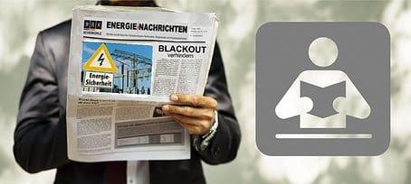 Revierkohle-Zeitungsleser