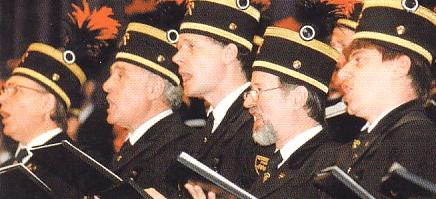 singende Bergleute des Ruhrkohle-Chores