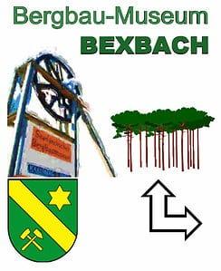 seilscheibe vor dem bergbau-museum bexbach