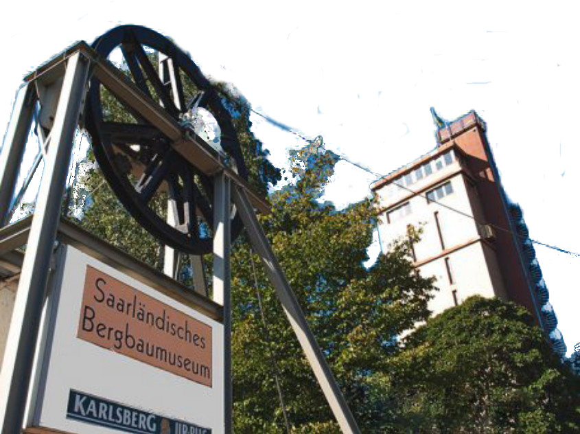 bergbau-museum bexbach mit hindenburgturm