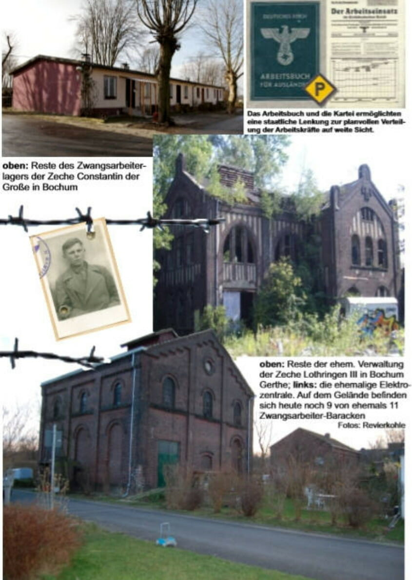 Reste der Zeche Lothringen