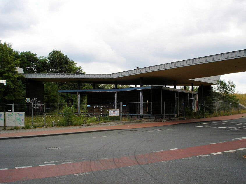 Tor 1 Krupp-Stahlhütte Duisburg-Rheinhausen